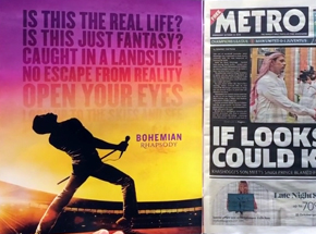 Metro magazine. Queen Promo