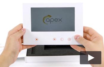 Apex - 7 inch video book in a box