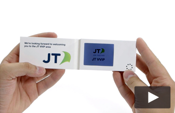 Video Business Card 2.4inch Screen