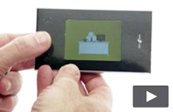 2.4 inch Soft backed Mini Video Brochure