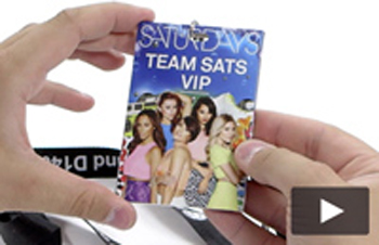 The Saturdays Music Musical Lanyard