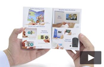 Talking Print Promo Audio Card