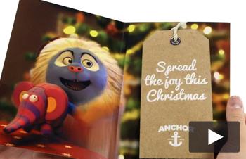 Anchor Audio Christmas Cards